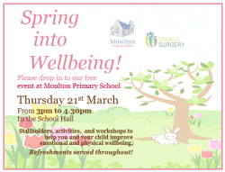 Spring into Wellbeing Event